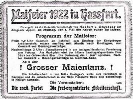 Maifeier 1922