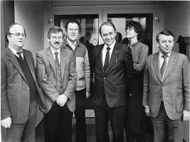 Werner Pfuhlmann, Ludwig Leisentritt, Emil Schurig, Helmut Rothemund, Susanne Kastner, Heiner Schneier