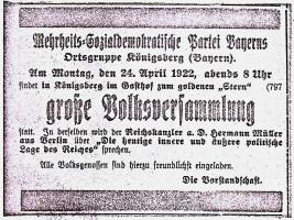 Bild 6 Königsberg 1922