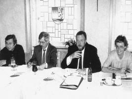 1990 Werner Holzinger, Ludwig Leisentritt, KH. Hirsemann, Susanne Kastner