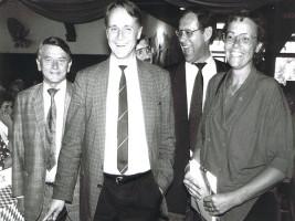 1992 Heiner Schneier, Hans-Ullrich Klose, Walter Kolbow, Susanne Kastner