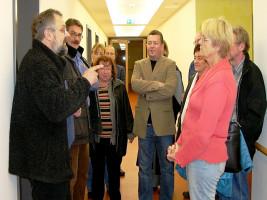 In Ebern: Paul Hümmer, Brunhilde Giegold, Wolfgang Brühl, Rosl Pflaum, Susanne Kastner