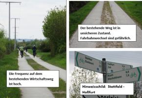 Radwege Stettfeld - Haßfurt