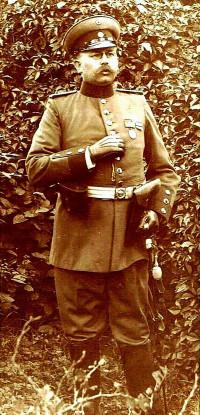 Apotheker Speth in Uniform