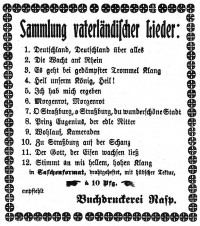 Vaterländische Lieder 03.1915
